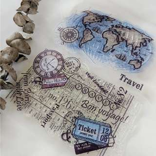 Clear Stamps - Bon Voyage
