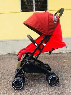 GB QBITZ + Compact Stroller (Used, condition 9/10)