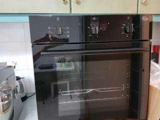 Turbo (400-TFX6605-BK) built in electric oven