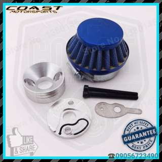 Air filter set for small engine quad pocket bike scooter motor