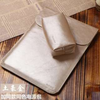 Gold Laptop Sleeve 13.3inch