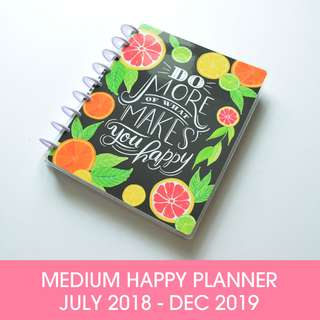 🚚 Happy Planner® Enjoy All The Things - Medium