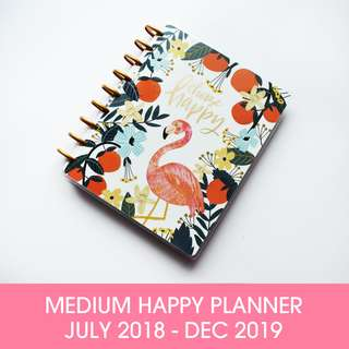 🚚 (INSTOCK) 2018 - 2019 Classic Happy Planner - Hand Drawn Whimsy