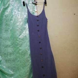 maxi gray dress