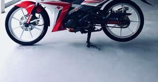 Racing Boy Rim 8 Batang 17 Inch Spark/X1R SWAP/SELL