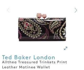 Ted Baker Althea Treasured Trinkets Print Wallet