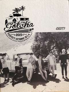GOT7 GOTCHA 2015 Perfect Getaway in LA Photobook 連postcard