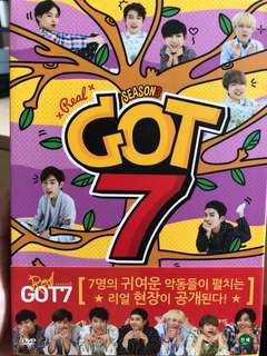 REAL GOT7 Season 3 DVD連Photobook及GOT2DAY DVD