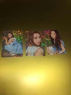 Red Velvet yes card 閃卡