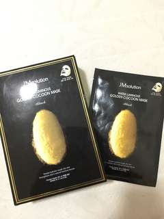 JM SOLUTION GOLDEN COCOON MASK BLACK