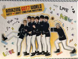 GOT7 2nd Fan Meeting DVD Amazing GOT7 World