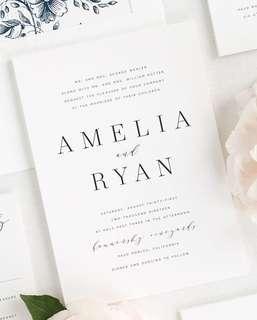 Amelia - invitation #HariRaya35