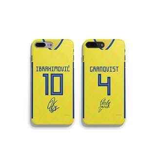 <<2018世界杯系列 – 瑞典國家隊主場手機殼! >>