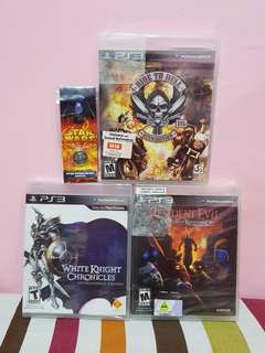 Ps3 Games Brandnew Bundle