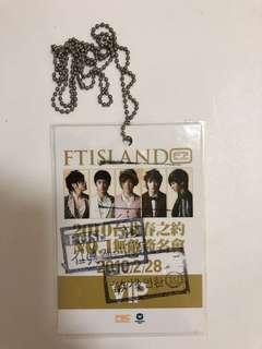 🚚 Ftisland手燈+vip成員蓋章證