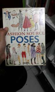 Poses books for fashion Designer