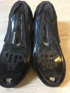 shimano lock 鞋黑色 42