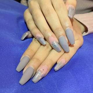 Extensions nails @$60