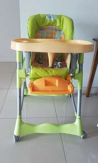 High chair disney