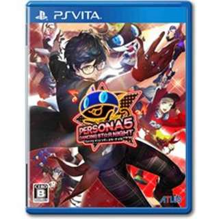 [NEW NOT USED] PSV Persona 5: Dancing Star Night Sony Vita Atlus Music Games