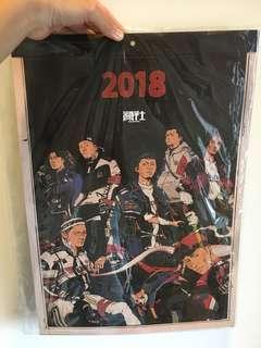 🚚 顏社2018年曆