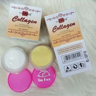 The face collagen