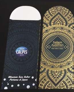 Calpis 2018 Sampul Duit Raya / Raya Packets