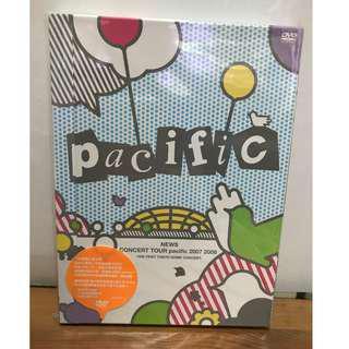 NEWS CONCERT TOUR pacific 2007 2008 DVD 台版