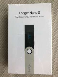 Ledger Nano S (Brand New - Unopened - only 3 left)