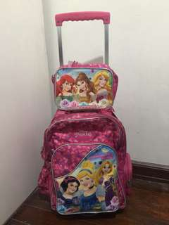 Disney princess school trolle bag