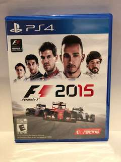 F1 2015 got Sony PS4