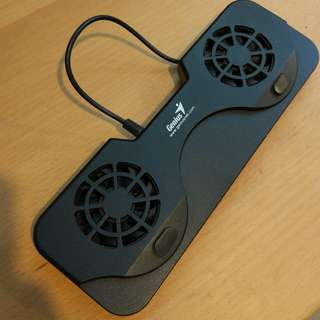 GENIUS COOLER FOR NOTEBOOK NB100 2 FANS