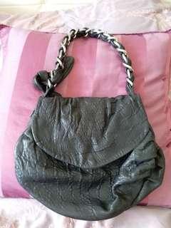 ZARA small leather bag
