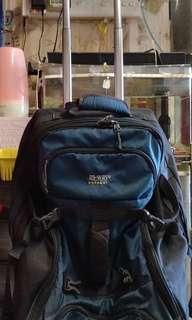 有轆亦可手提2用實用拉車袋