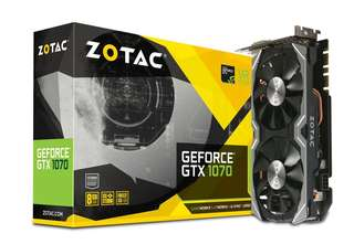 Zotac GeForce GTX 1070 Mini 8GB 顯示卡 保養至2022