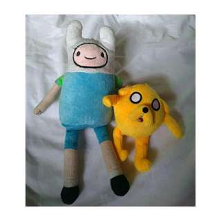 Adventure Time Bundle! Finn and Jake Plush Toys