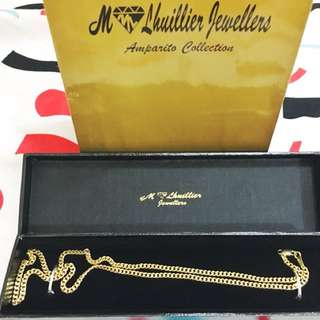 Solid Japan Gold Necklace