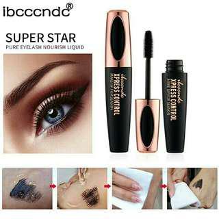 Pre order 4D silk fiber eyelash mascara