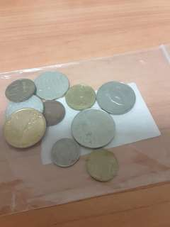 Coins 8 Countries( All @ $1)