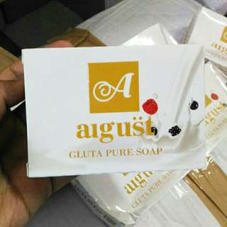 Gluta August soap