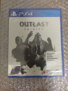 PS4 Outlast Trinity