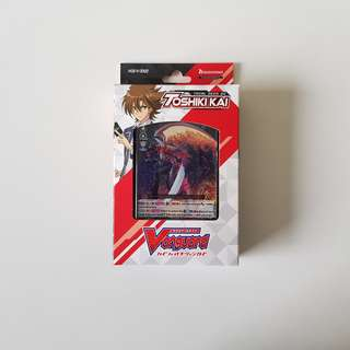 Cardfight!! Vanguard: V Trial Deck 2 Toshiki Kai
