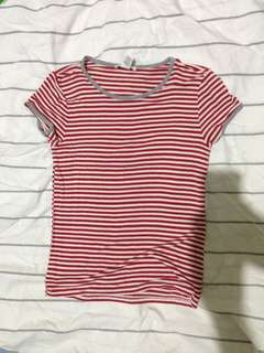 Stripes red/white