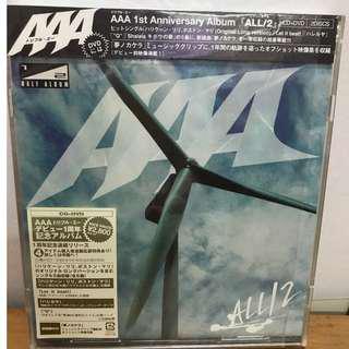 AAA ALL/2 (Ablum) CD DVD