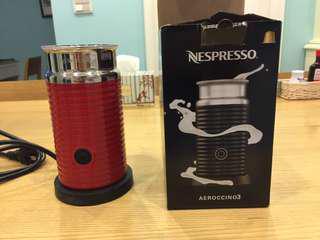 Nespresso 奶泡機 僅用過三次