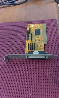 🚚 送咖啡 PCI 印表機 LPT 單 port 介面擴充卡 POS 進銷存 ERP 中一刀
