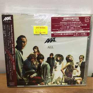 AAA ALL (Album) CD DVD