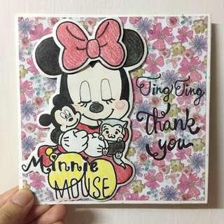 Minnie 機關卡片