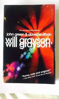 Will Grayson, Will Grayson, John Green & David Levithan