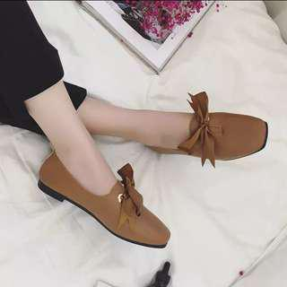 女神復古小皮鞋